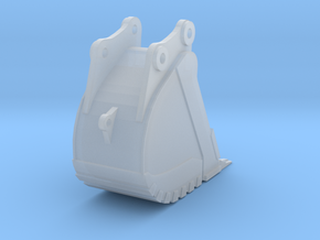 85 Ton Trench Bucket in Smooth Fine Detail Plastic