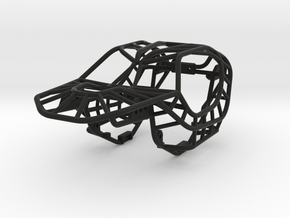 Raptor Rock Bouncer Chassis 1/24 scale in Black Natural Versatile Plastic