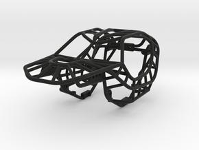 Raptor Rock Bouncer Chassis 1/24 scale in Black Natural Versatile Plastic