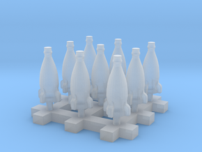 Rocket bottle 1:35 54mm scale 20cm 9pcs in Smoothest Fine Detail Plastic