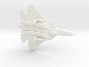 PAK FA 1/200 in White Strong & Flexible Polished