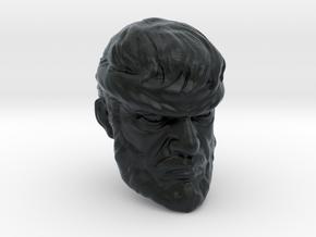 1/18 Scale Head 05 in Black Hi-Def Acrylate