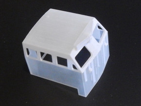 HO 1:87 Scale BQ23-7 cab V2 in Smooth Fine Detail Plastic