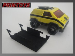 Vehicule Voltron MA-01 raisers in Black Natural Versatile Plastic