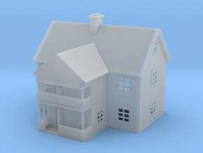 Emadalen Water Tower House Z Scale in Smooth Fine Detail Plastic