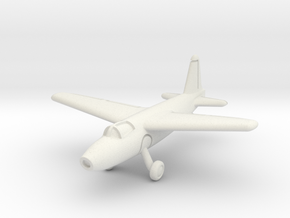 Heinkel He 178 1/200 in White Natural Versatile Plastic