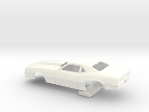 1/32 Pro Mod 68 Camaro in White Strong & Flexible Polished
