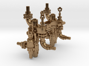 Nathan Non Lifting Injector in Natural Brass