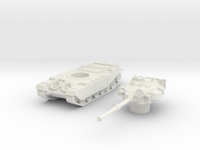 Centurion tank Late (British) 1/87 in White Strong & Flexible