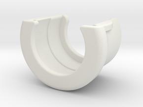 cuff for non-refill bottles (19x30mm) in White Natural Versatile Plastic