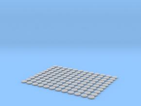 Bottlecaps scale 1:12 150mm 120pcs in Smoothest Fine Detail Plastic