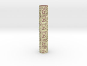 Rolling Pin Sleeve Maxico City 3d in Full Color Sandstone