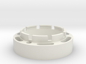23mm Speaker holder in White Natural Versatile Plastic