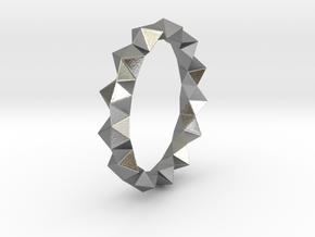 Igor - Ring in Natural Silver: 6 / 51.5