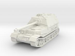 Elefant tank (Germany) 1/87 in White Natural Versatile Plastic