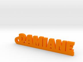 DAMIANE Keychain Lucky in Orange Processed Versatile Plastic