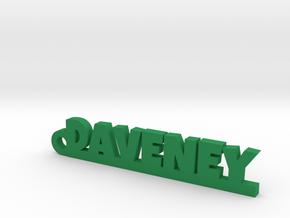 DAVENEY Keychain Lucky in Natural Brass