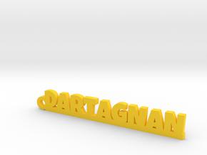 DARTAGNAN Keychain Lucky in Natural Brass
