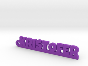 KRISTOFER Keychain Lucky in Purple Processed Versatile Plastic