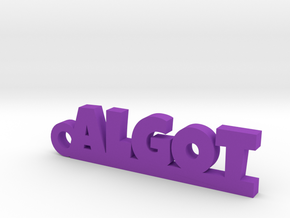 ALGOT Keychain Lucky in Smooth Fine Detail Plastic
