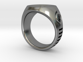 LMNTL Water Ring (size 12) in Polished Silver