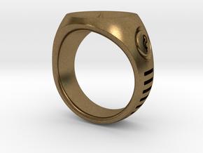 LMNTL Water Ring (size 12) in Natural Bronze