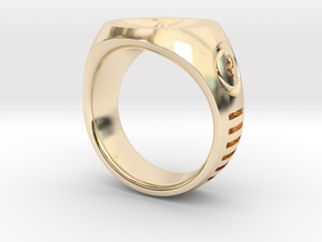 LMNTL Water Ring (size 12) in 14K Yellow Gold