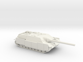 Jagdpanzer IV tank  (Germany) 1/87 in White Natural Versatile Plastic