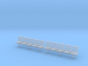 TJ-H04553x2 - bancs de quai 5 places avec dossier in Frosted Ultra Detail