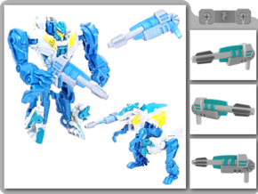 Legion TFP Rippersnapper Blaster in White Strong & Flexible