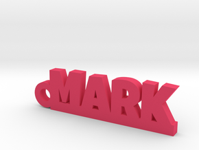MARK Keychain Lucky in Pink Processed Versatile Plastic