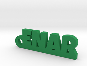 ENAR Keychain Lucky in Green Processed Versatile Plastic