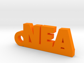 NEA Keychain Lucky in Orange Processed Versatile Plastic