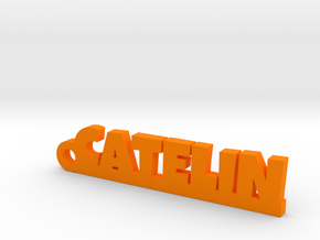 CATELIN Keychain Lucky in Orange Processed Versatile Plastic