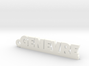 GENEVRE Keychain Lucky in Black PA12