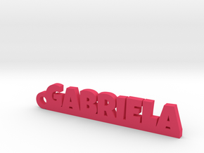 GABRIELA Keychain Lucky in Black PA12