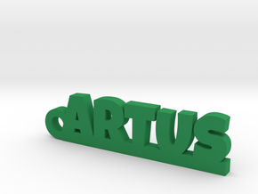 ARTUS Keychain Lucky in Green Processed Versatile Plastic
