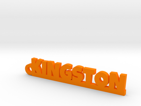 KINGSTON Keychain Lucky in Orange Processed Versatile Plastic
