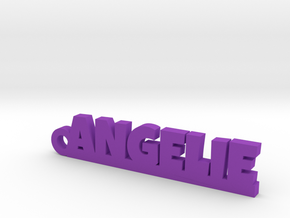 ANGELIE Keychain Lucky in Purple Processed Versatile Plastic