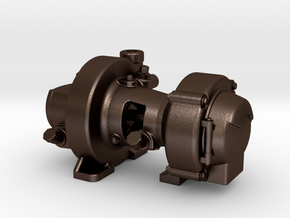 "Pyle Type ""K2"" Generator in Matte Bronze Steel"