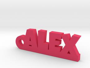 ALEX Keychain Lucky in Pink Processed Versatile Plastic