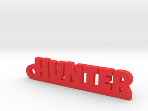 HUNTER Keychain Lucky in Red Processed Versatile Plastic