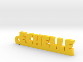 ECHELLE Keychain Lucky in Yellow Processed Versatile Plastic