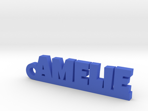 AMELIE Keychain Lucky in Blue Strong & Flexible Polished