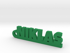 NIKLAS Keychain Lucky in Green Processed Versatile Plastic