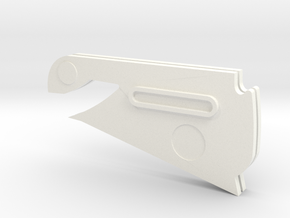 Firespray Stand Parts in White Processed Versatile Plastic