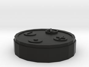 Amazon Echo Dot Model in Black Natural Versatile Plastic