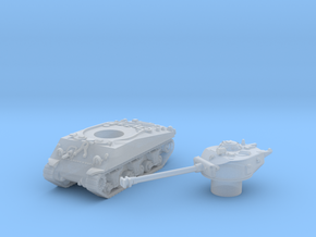 M4 Sherman Tank (Usa)  1/200 in Smooth Fine Detail Plastic