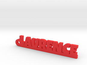 LAURENCE Keychain Lucky in Red Processed Versatile Plastic