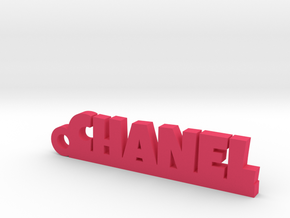 CHANEL Keychain Lucky in Rhodium Plated Brass